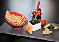 tartare et croustillant blé noir